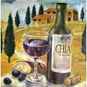 Вино, пейзаж