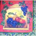 Виноград и фрукты. Стамперия.