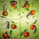 Ёжики с яблочками