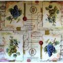 Виноград, печати