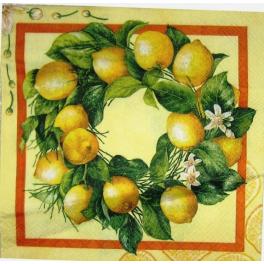 лимоновые веночки