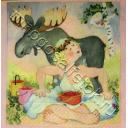 ягодки в лесу. Birgitta Lindeblad