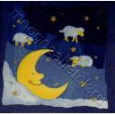 месяц с овечками