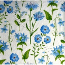 фоновые голубые цветочки