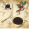 Чашка кофе и кофе.