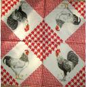 петухи и красная куриная лапка