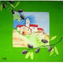 пейзаж с маслинами