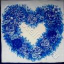 синее сердечко