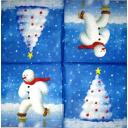 снеговичок с елочкой