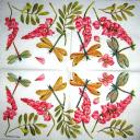 цветы и стрекозки