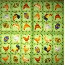 курочки, петушки и яйца