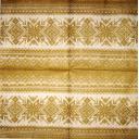 вязанный узор  золотой  25х25