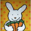 заяц с морковками
