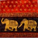 слоны с узором