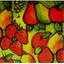 фруктово-ягодный фон