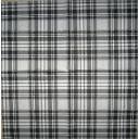 шотландка серо- черная