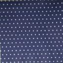 горошек на темно - синем