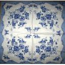 цветы-узоры синие