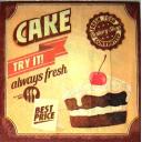 Пирожное с вишенкой
