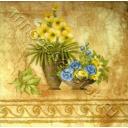 фреска - цветы
