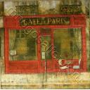 старое кафе в Париже
