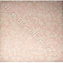 батист  бело-розовый