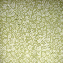 батист бело-оливковый