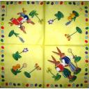 Игрушки - два зайца и цыпленок