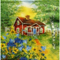 Домик в деревне.Ингрид Эльф