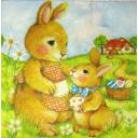 мамочка с зайчонком