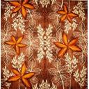фон листья на коричневом