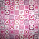 Пэчворк в розовом цвете