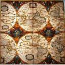 Карта  МИРА Caspari