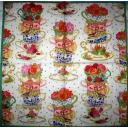 чашки с цветами Caspari