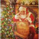 Санта готовит поздравление