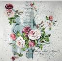 розы с набрызгом