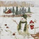 снеговики 21х21