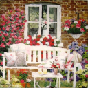 милый сад...