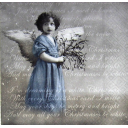 Рождественский ангел на тексте