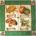 орехи, грибы, тыква и кукуруза