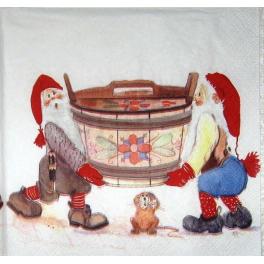 гномы и мышка