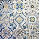 изразцы (серо-синие)