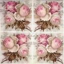 16 букетиков роз. SAGEN  VINTAGE