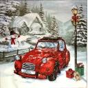 новогоднее авто