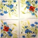 цветы полянки 25х25