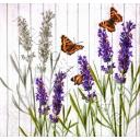 лаванда и бабочки
