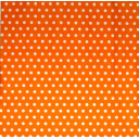 оранжевая в белый горох