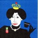 Королева с чашечкой