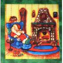 дед Мороз уснул...