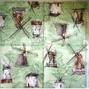 Мельницы и карта